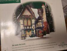Dept 56 Dickens Village Series The Spider Box Locks 58448 Retired 2002