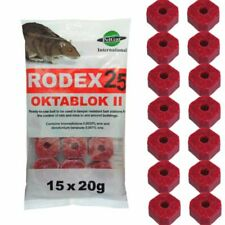 Elixir Gardens Rodex 25 20g Mouse Poison - 15 Pieces