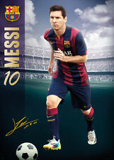 Lionel Messi FC Barcelona GIANT MURAL-SIZED Signature Series Soccer POSTER