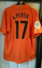 Holland home shirt 2006-2007 van persie authentic