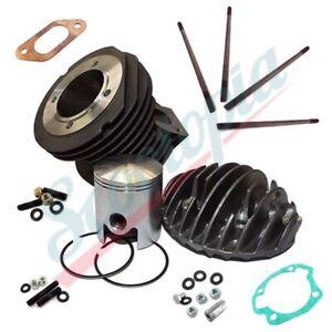 Scootopia Lambretta LI SX TV DL GP 185 Barrel Piston & Head kit (with fixings)