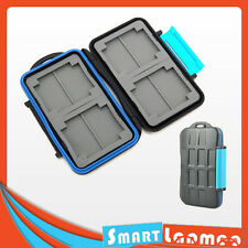 SD SDHC CF Memory Card Holder Hard Storage Case Waterproof Anti Shock Box