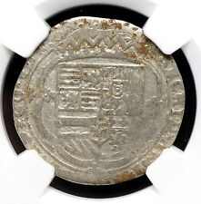 SPANISH NETHERLANDS. Albert and Isabella, 1598-1621, Silver 3 Stuiver, NGC VF30