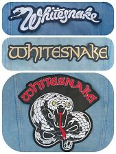 Whitesnake embroidered patch Deep Purple