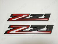 1x New Z71 Emblems Replacement for 2019-2021 Silverado 1500 2500 3500 Decal Badge 84632695 Nameplate OEM White