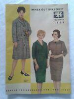 Katalog Frühjahr Konsum-Versandhandel Karl-Marx-Stadt Chemnitz DDR GDR 1963