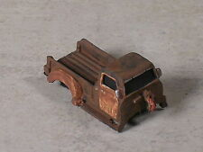 HO Scale Rusted Out 1951 Chevy Pickup w/ front end missing