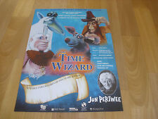 The TIME WIZARD  Electric Puppet Production  Theatre Royal BATH Original Poster