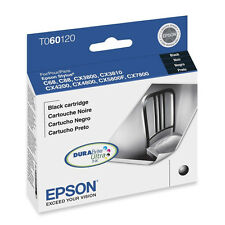Genuine Epson T060 60 T0601 black ink CX5800 CX4200 CX4800 CX7800 CX3800 C88 C68