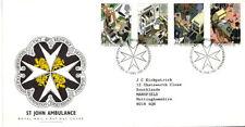 16 JUNE 1987 St JOHN AMBULANCE ROYAL MAIL FIRST DAY COVER BUREAU SHS (a)