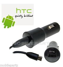 Genuine HTC CC200 Car Charger for Desire S Wildfire Legend Sensation TITAN Hd2