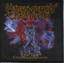 MALEVOLENT CREATION-THE TEN COMMANDMENTS- WOVEN PATCH