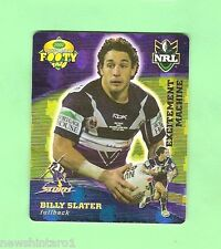 2007 GOLD SERIES  RUGBY LEAGUE TAZO - #23  BILLY SLATER,  MELBOURNE STORM