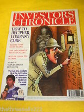 INVESTORS CHRONICLE - FORMULA ONE - MARCH 14 1997