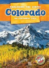 NEW Colorado: The Centennial State by Emily Schnobrich Library Binding Book (Eng
