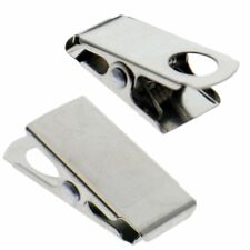 50 Pack - Small 1 Inch Bulldog / Alligator Clasp Clips for Arts & Craft Lanyards