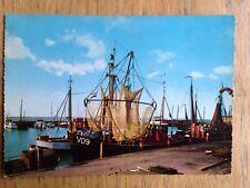 Volendam Harbour postcard 1970s