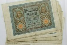 WHOLESALE 100 WELL USED GERMANY PICK # 69 HORSEMEN of BAMBERG BANK NOTES of 1920
