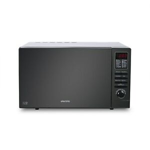 electriQ 25L 900W Freestanding Microwave with Digital Display in Black