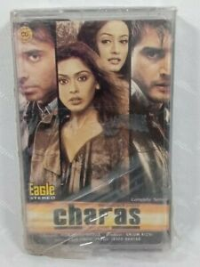 Brand New Sealed Charas Mix Songs Cassette Audio Tape Eagle Stereo Bollywood