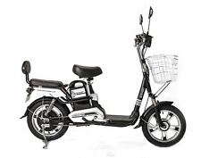 SOHOO Electric Scooter City E-Bike 48V500W12Ah Lithium Battery E-Scooter (Black)