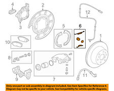 GM OEM Brake-Rear-Park Brake Shoes Hardware Kit 23299313