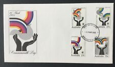 1983 Commonwealth Day Fdc