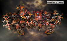 WARHAMMER 40K EVIL SUNZ ORKS ORK OUTRIDER DETACHMENT ARMY PAINTED PAP