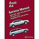 AUDI A4 B5 QUATTRO SALOON AVANT Owners Handbook Workshop Service Manual Haynes