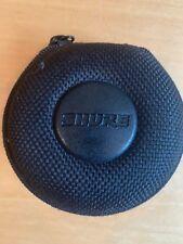 SHURE in-ear Cuffie Earphone Jack da 3,5mm con case PAT. no 488 460