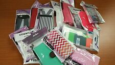 Wholesale Lot 25 Brand New Fosmon Hard & Soft, Leather Phone Case iPhone 5 5S SE