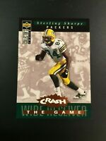1994 Upper Deck #C24 STERLING SHARPE Crash The Game Green Bay Packers Insert