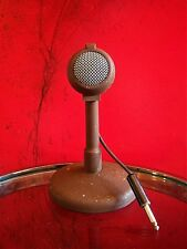 "Vintage RARE 1950's Turner 35X crystal ""Fireball"" microphone old w desk stand"