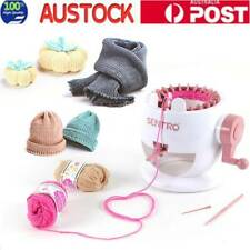 DIY Hand Weaving Knitting Machine Educational Kids Toy for Hat Scarves Sweater