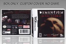 "NINTENDO DS : DEMENTIUM. UNOFFICIAL COVER. ORIGINAL BOX. ""NO GAME"". ENGLISH."