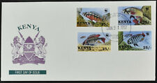 Kenya 1997 Endangered Species Fishes FDC First Day Cover #C54126