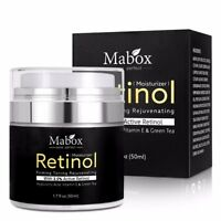 Retinol 2.5% Moisturizer Face Cream Vitamin E Collagen Anti Aging Wrinkles