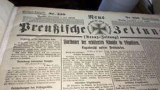 RARE!  KREUZ- ZEITUNG Archive July through August 1916 Berlin