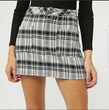 Minifalda  falda Tartán mini skirt cuadros  talla s 8 36