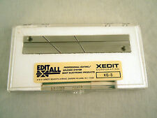 EDITALL S-3 Splicing Block for 1/4in Audio Tape - New, Free Shipping