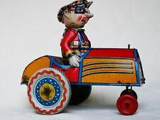 Ingap Padova Comic Car Auto Impazzita Italy Tin Toy  Rare - Raro