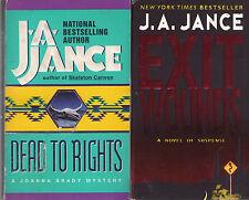 Complete Set Series - Lot of 16 Joanna Brady Books by J.A. Jance (Suspense)