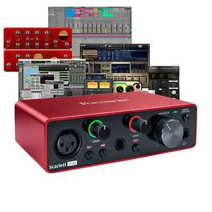 Focusrite Scarlett Solo 3rd Gen Mk3 Audio Interface w/ free Ableton & Pro Tools