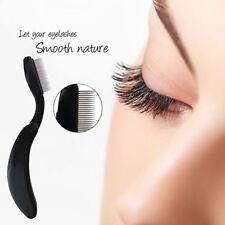 Pro Folding Stainless Steel Teeth Eyelash Comb Eyebrow Brush Shaper Beauty Tools