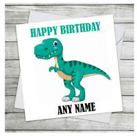 Personalised Birthday Card Son Brother Friend Nephew Grandson Children's Cards