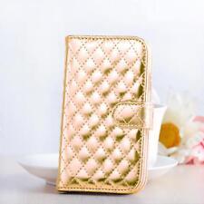 Metallic Handy Tasche Schutz Hülle Flip Case Cover Etui Wallet Bumper Schale