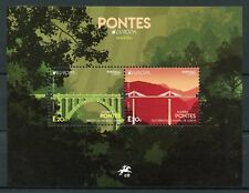 Portugal Madeira 2018 MNH Bridges Europa Socorridos 2v M/S Architecture Stamps