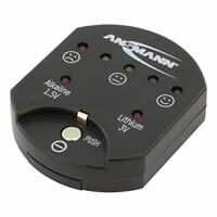 ANSMANN Battery Test Capacity Indicator for Alkaline and Lithium Button Cells