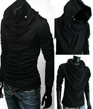 Cotton Hooded Long Sleeve T-Shirts for Men