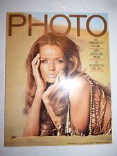 PHOTO FRENCH MAGAZINE #49 septembre 1971 Cameramen de la lune - Verushka